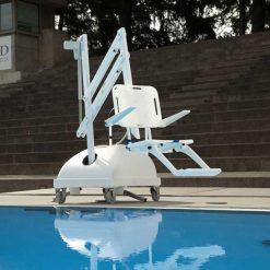 Grúa de piscina portátil PAL - Eléctrica