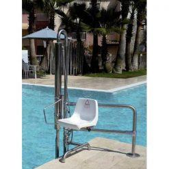Grúa de piscina hidráulica B2