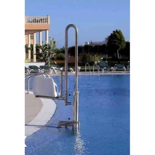 Grúa piscina Hidráulica PK