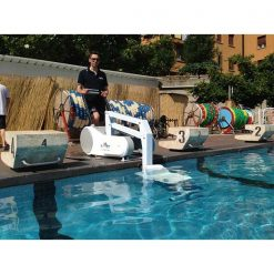 Grúa piscina portátil I-Swim