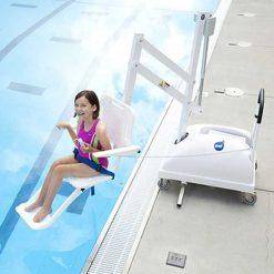 Grúa de piscina portátil PAL