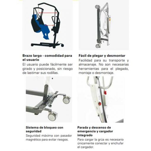 Grúa Birdie Compact - Invacare