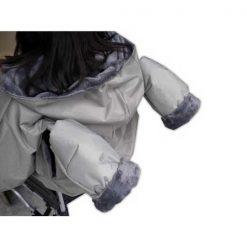 Guantes anti frío para empujar silla de ruedas