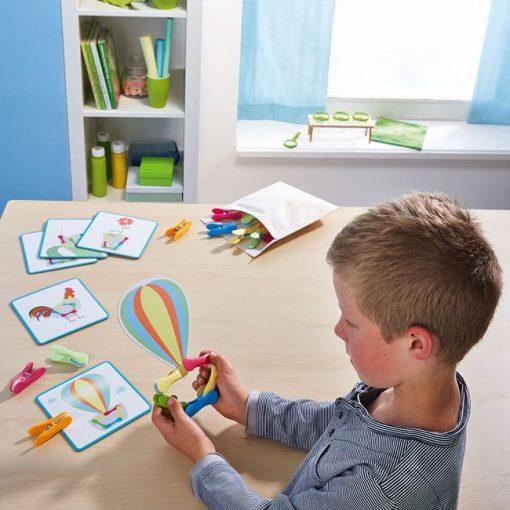 Juego de Pinzas - Figuras - Niños