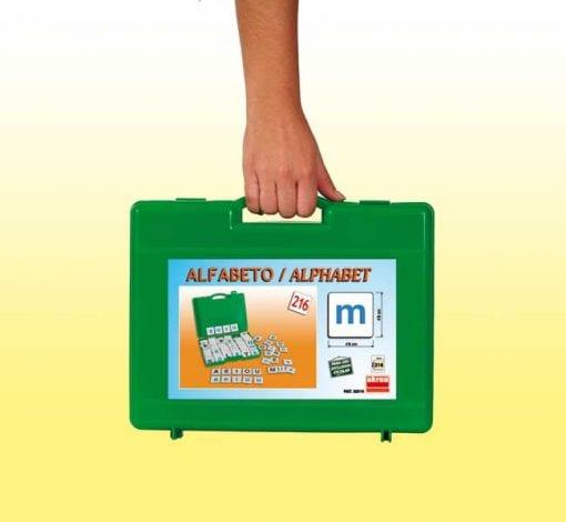 Kit alfabeto - maletin