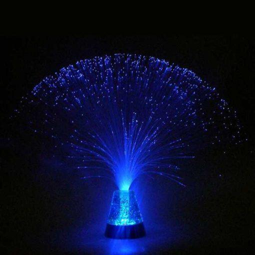 Lampara de Fibra Óptica Purpurina