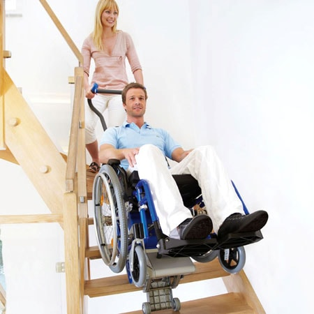 Liftkar 5 - PT Adapt - Salvaescaleras - Escaleras estrechas