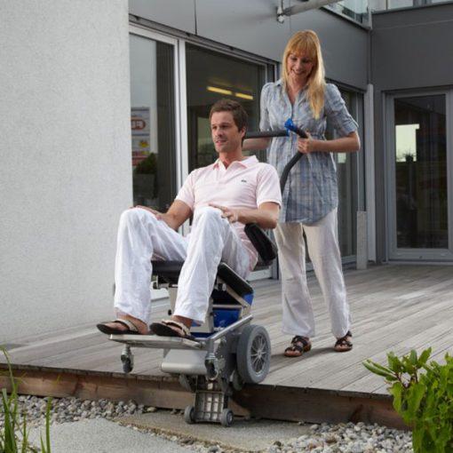 Silla Salvaescaleras Portátil - Liftkar 1 - Facilidad de uso