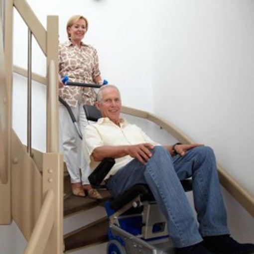 Silla Salvaescaleras Portátil - Liftkar 1 - Escaleras Estrechas