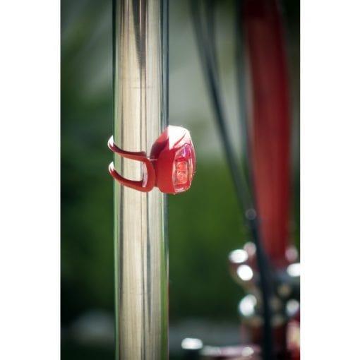 Luces LED bicicleta o silla de ruedas ELBE LUB-01 regalo