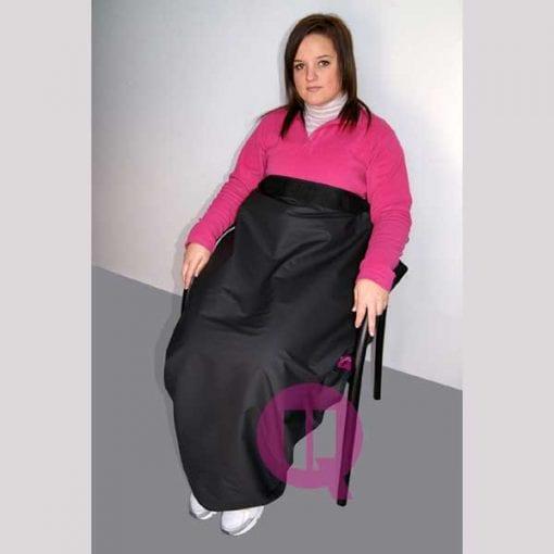 Manta termorreguladora para silla de ruedas