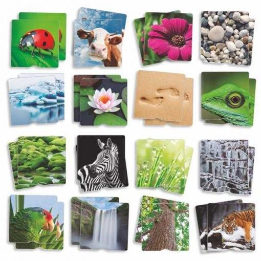 Maxi-Memory Táctil - Naturaleza - Parejas