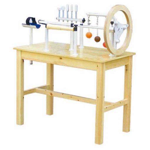 Mesa de manos de madera