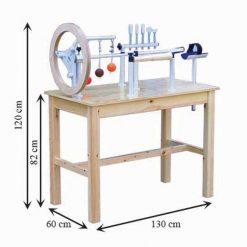 Mesa de manos de madera medidas