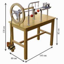Mesa de manos y pies de madera medidas