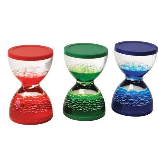 Mini Relojes de Arena Liquida