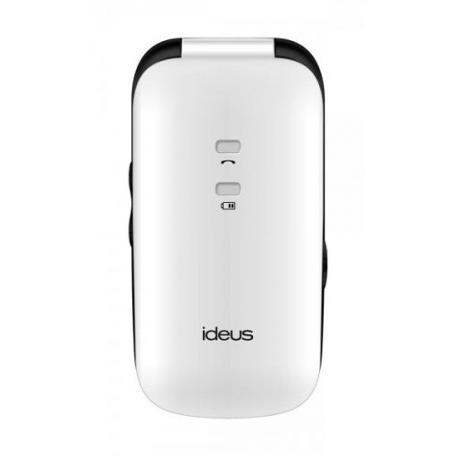 Ideus IM600 Blanco y Negro - Móvil Fácil Uso - Frontal cerrado