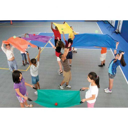 Paracaídas para dos - set de 6 - niños