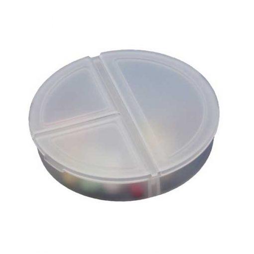 pastillero tres tomas un dia cerrado