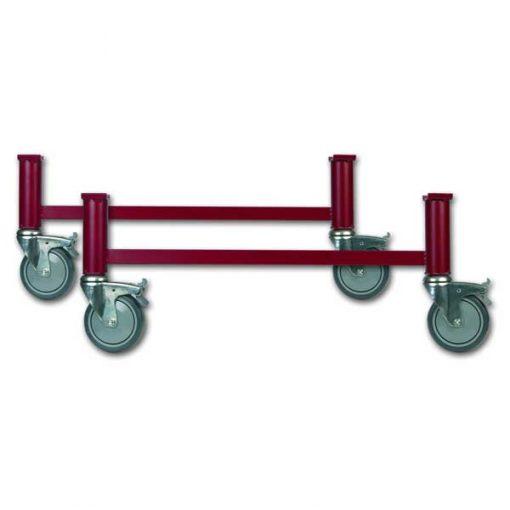 Cama Articulada Nules - Patas con ruedas regulables en altura