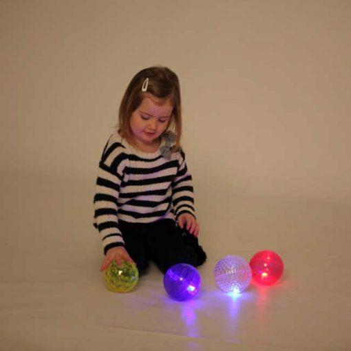 Pelotas Luminosas Texturas