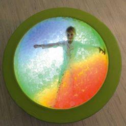 Piscina de Bolas Redonda con Luz