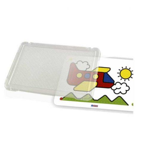 Placa transparente para pinchos - juego