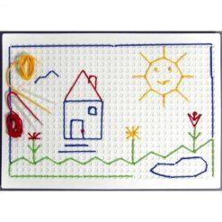 Plancha dibujo punzón - tablero
