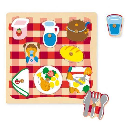Encajable comedor - puzzles