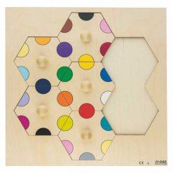 Puzzle Ensartable Colores