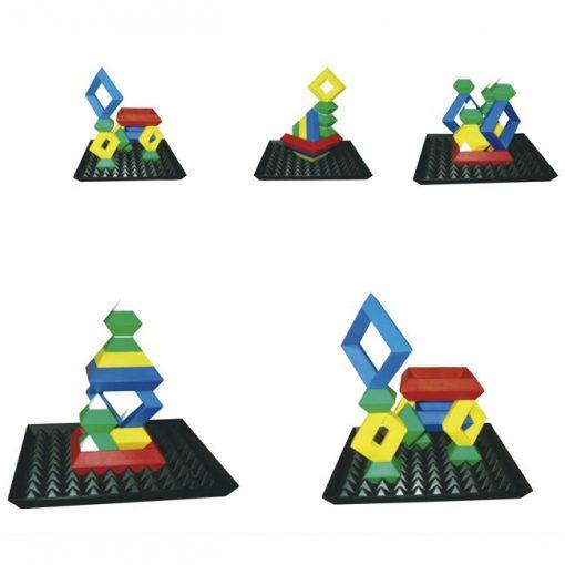 Puzzle Piramide Vertical - Propuestas