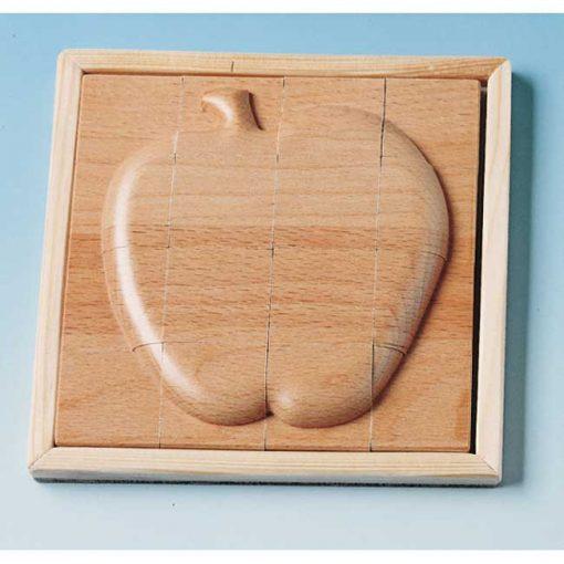 Puzzle en relieve Manzana