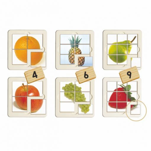 Puzzles Progresivos Frutas