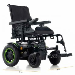 Silla de ruedas Eléctrica Q200R - Verde