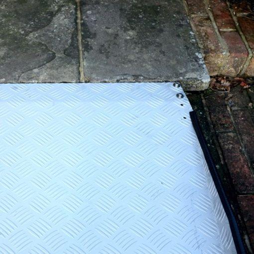 Rampa Fija de Umbral Ajustable - Lateral