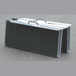 Rampa plegable doble