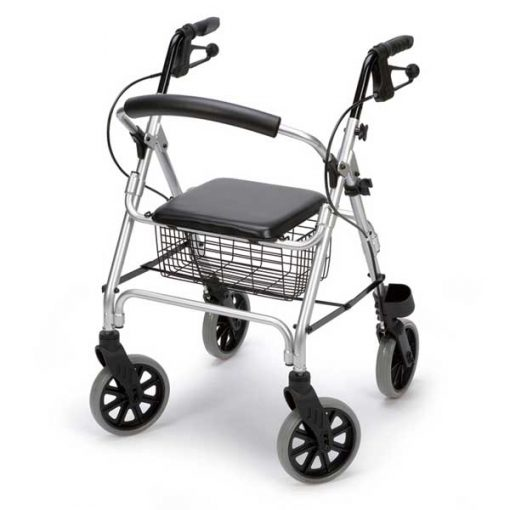 Andador rollator aluminio Ergo