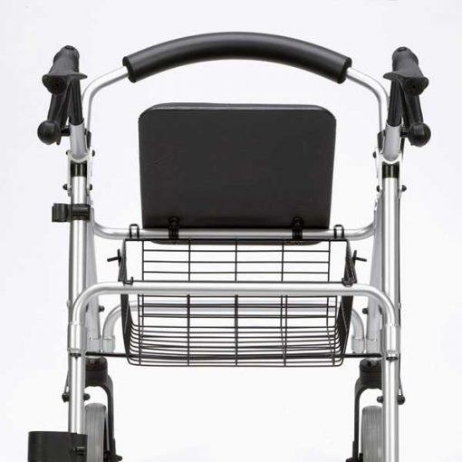 Andador rollator aluminio Ergo - Cesta