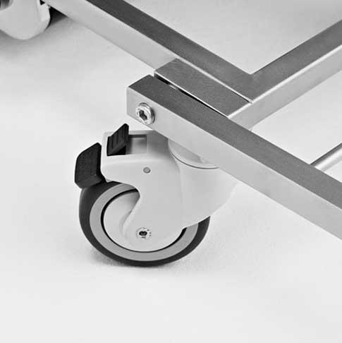 Silla Salvaescaleras - Yack N911 - Ruedas delanteras