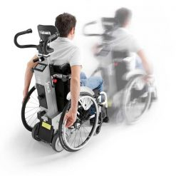 Salvaescaleras para sillas de ruedas - Yack N913 - Rodando