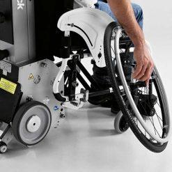 Salvaescaleras para sillas de ruedas - Yack N913 - Desmontaje Ruedas