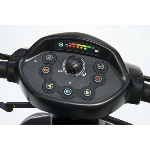 Scooter Comet Alpine - Panel de control