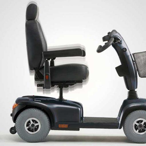 Scooter eléctrico Comet - Regulación asiento