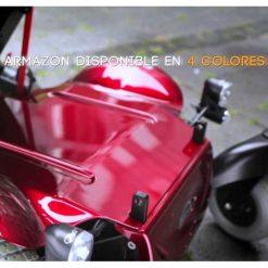 Silla eléctrica Quickie Salsa M2 - Carcasa