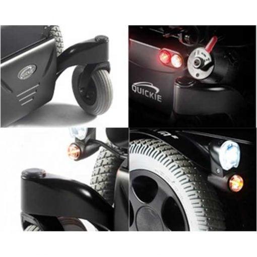 Silla de ruedas eléctrica Salsa M2 - Detalles