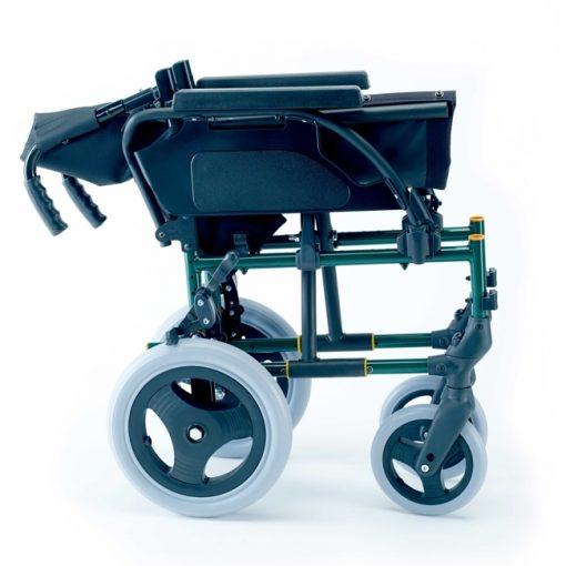 Silla de Ruedas Breezy Premium - Respaldo partido