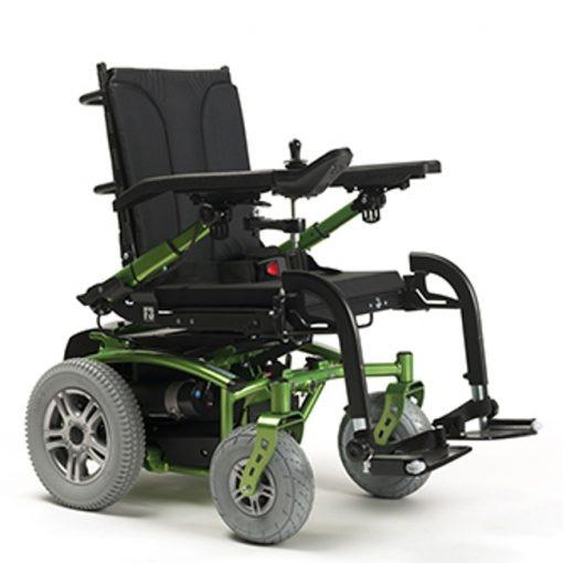 Silla de ruedas eléctrica Forest 3 Lime