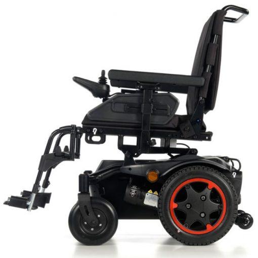 Silla de ruedas Eléctrica Q100R - Roja