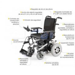 Silla eléctrica R220 - Opciones
