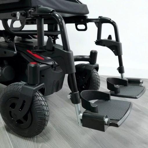 Silla de ruedas Eléctrica Q200R - Reposapies